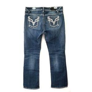 Vigoss Chelsea slim bootcut jeans plus 16